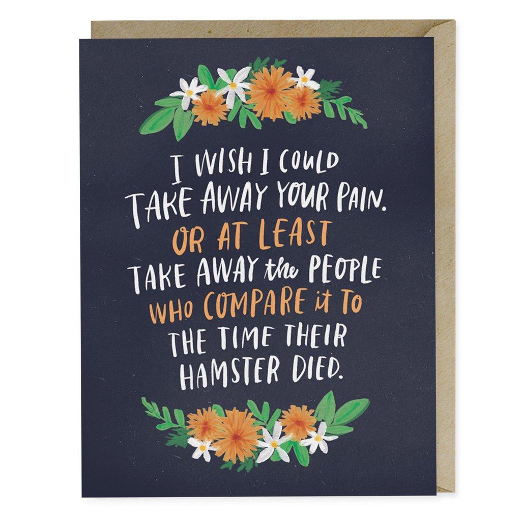 Take Away Your Pain Empathy Card