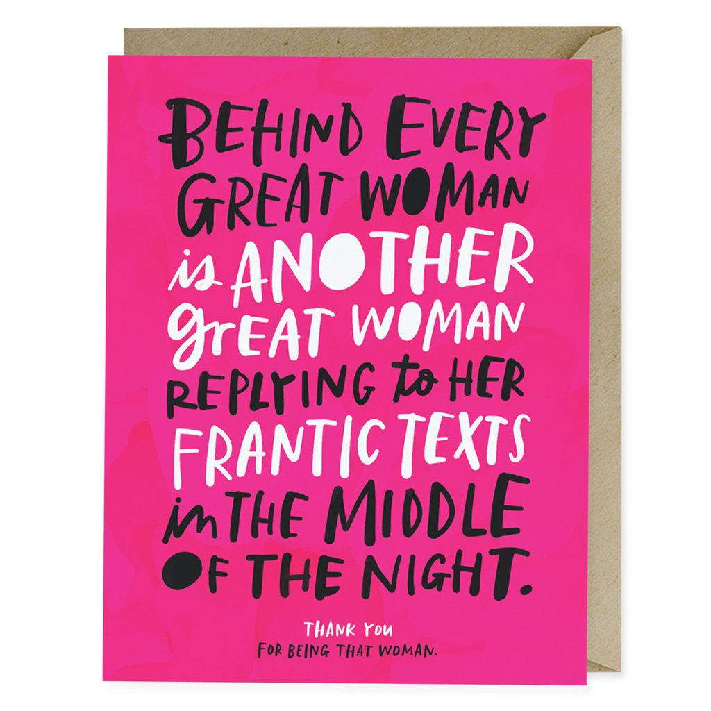Greeting cards good for her soul behind every woman card m4hsunfo
